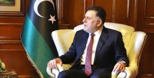 Libya Başbakanı Serrac İtalya Dışişleri Bakanı Di Maio ile Trablus'ta görüştü
