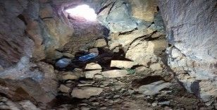 Haftanin'de ağır silah mevzii olarak kullanılan 150 metrelik tünel bulundu