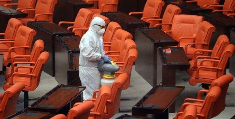 Meclis'te koronavirüse yakalanan personel sayısı 19'a yükseldi