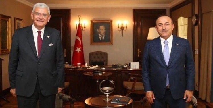 Bakan Çavuşoğlu, BM Genel Kurul Başkanlığı'na seçilen Bozkır ile görüştü