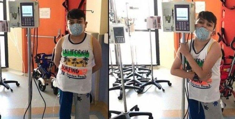 Koronavirüs şüphesiyle hastaneye kaldırılan 9 yaşındaki Aras'ın lösemi olduğu ortaya çıktı