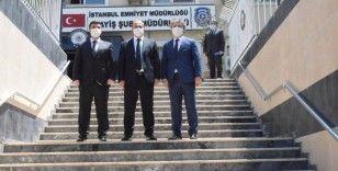 İstanbul Emniyet Müdürü Aktaş, Asayiş Şube Müdürlüğü'nü ziyaret etti