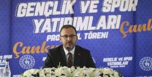 Gençlik ve Spor Bakanlığı'ndan Çankırı'ya 32 milyon TL'lik yatırım