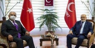 DSP, seçim kanununa ilişkin önerilerini Saadet Partisi'ne sundu