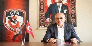 Gaziantep FK Başkanı Büyükekşi: İyi futbola devam etmemiz gerek