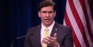 ABD Savunma Bakanı Esper'den 'NATO müttefiklerine savunma harcamalarını artırma' çağrısı