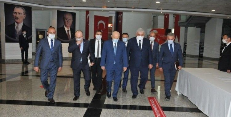 MHP'de milletvekilleri toplandı