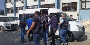 Ülke genelinde yaklaşık 1 milyon TL dolandırıcılık yapan 7 şahıs tutuklandı