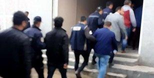 İzmir merkezli 6 ilde dev suç örgütü operasyonu: 94 gözaltı