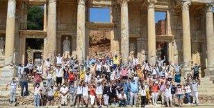 3 ilin rehber odalarından Efes'te tanıtım atağı