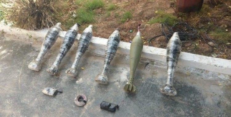 Barış Pınarı bölgesinde 6 havan imha edildi