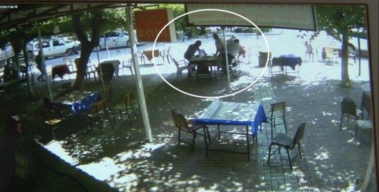 Merkez üssünde deprem anı güvenlik kameralarına böyle yansıdı
