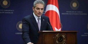 Dışişleri Bakanlığı Sözcüsü Aksoy: 'Kıbrıs Rumlarının muhatabı Kıbrıs Türkleridir'