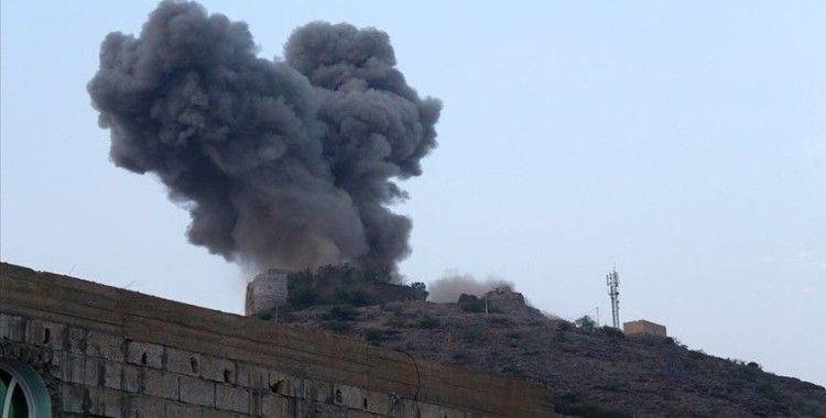 Yemen ordusu, Hudeyde'de Husilere ait İHA deposunu vurduğunu duyurdu
