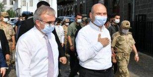 İçişleri Bakanı Süleyman Soylu'nun katılımıyla İl Güvenlik Kurulu Toplantısı gerçekleştirildi