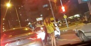 Trafikte kırmızı ışık dansı