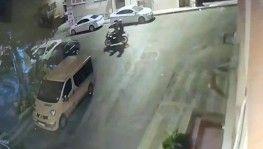 Lüks Motosiklet hırsızlığı kamerada