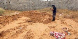 Libya'da bir toplu mezar daha bulundu