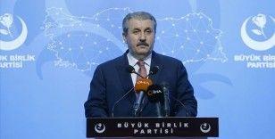 BBP Genel Başkanı Destici, barolara ilişkin düzenlemeyi değerlendirdi