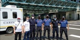 YTB memleket yoluna çıkan vatandaşları Sırbistan'da karşılıyor