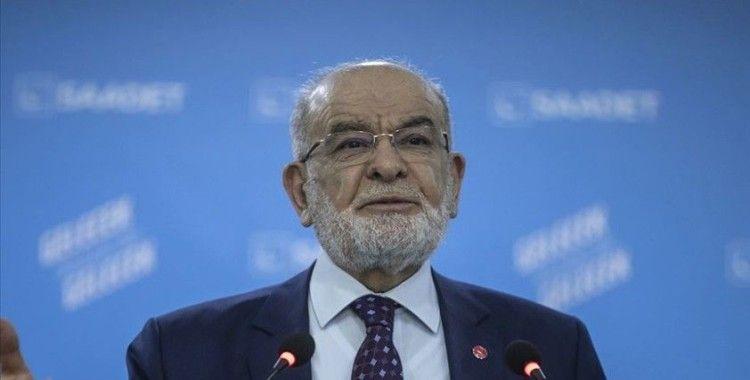 Saadet Partisi Genel Başkanı Karamollaoğlu gündemi değerlendirdi