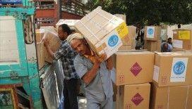 Birleşmiş Milletler Dünya Gıda Programı'nın Yemen'e yaptığı yardımlar 5 yılda 12 kat arttı