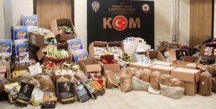 Eskişehir KOM'dan dev kaçakçılık operasyonu