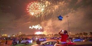 ABD'de '4 Temmuz Bağımsızlık Günü' havai fişek gösterileriyle kutlandı