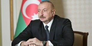 Azerbaycan Cumhurbaşkanı Aliyev: AGİT Minsk Grubundan ciddi ve somut açıklama bekliyoruz
