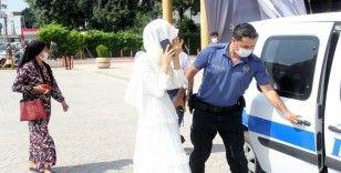 'Zorla evlendiriliyorum' deyip polisten yardım isteyen genç kadın ifadesini değiştirdi