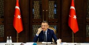 Cumhurbaşkanı Yardımcısı Oktay'dan, Derviş Eroğlu'na 'geçmiş olsun' telefonu