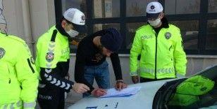 Yabancı uyruklu tek teker magandalara ceza yağdı