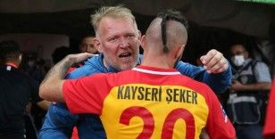 Kayserispor'da tek hedef Süper Lig'de kalmak