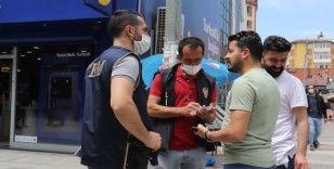 Ağrı'da maske takma zorunluluğunun ardından denetimler sıkılaştırıldı