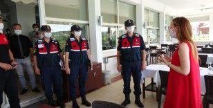 Jandarmanın denetlemeleri vatandaştan tam not aldı