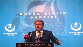 BBP Genel Başkanı Destici; 'TİGAD ile birlikte Basın Yasası teklifi hazırlıyoruz'