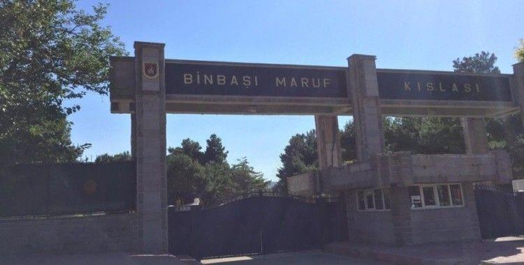 25 askerin Covid testi pozitif çıkan Burdur'da 284 asker izole edildi