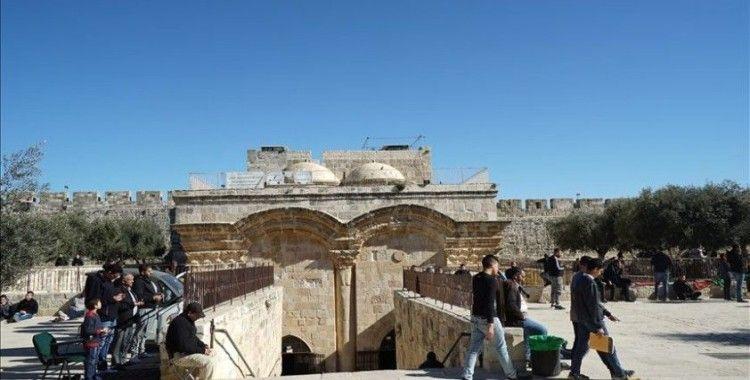 Kudüs ulemasından İsrail'in Mescid-i Aksa'nın Rahmet Kapısı'nı kapatma kararına tepki