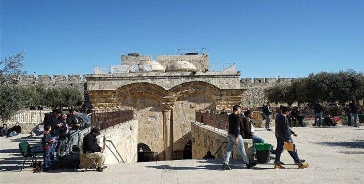 Filistin'den İsrail'in Rahmet Kapısı Mescidi'ni kapatma kararına kınama