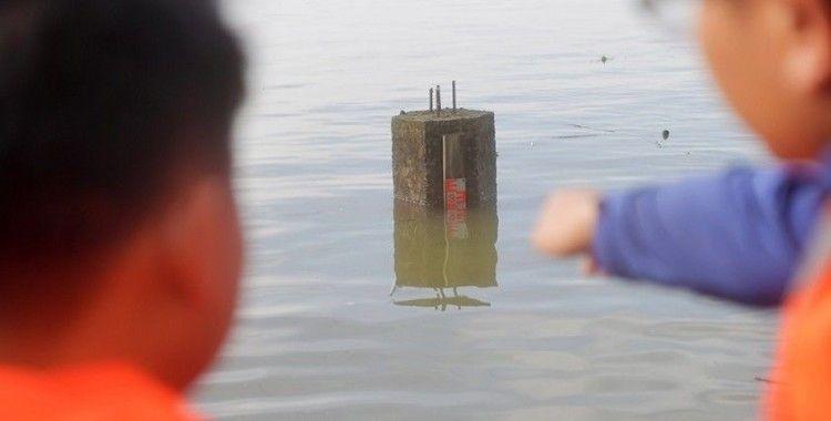Çin'deki Poyang Gölü'nde su rekor seviyeye yükseldi