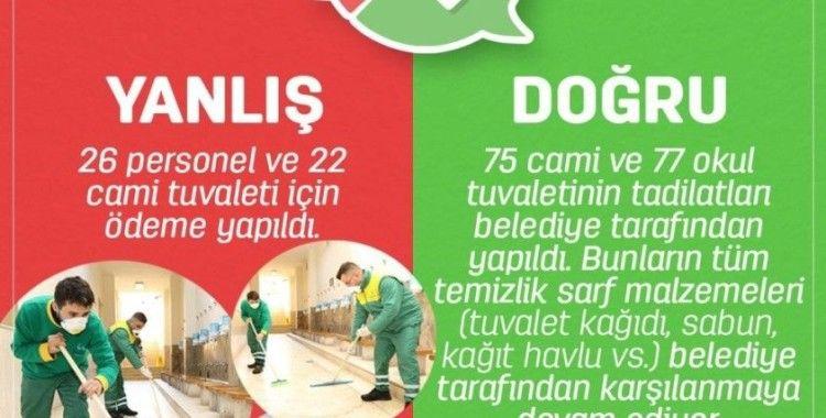 Beykoz'daki 'tuvalet temizliği' çarpıtmasına cevap