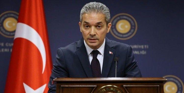 Dışişleri Bakanlığı Sözcüsü Aksoy'dan AB Yüksek Temsilcisi Borrell'in açıklamalarına tepki