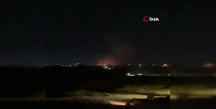 Suriye hava savunma sistemleri Şam'a yönelik saldırıyı engelledi