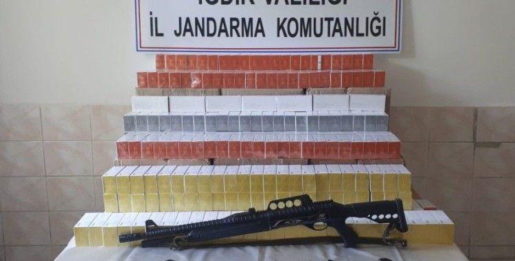 Iğdır'da kaçakçılık operasyonu: 1 gözaltı