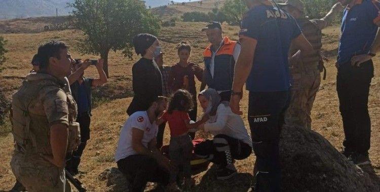 Siirt'te 3 yaşındaki kayıp kız ağaçlık alanda bulundu