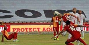 Antalyaspor sahasında Galatasaray ile 2-2 berabere kaldı