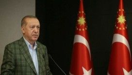 Cumhurbaşkanı Erdoğan '350 bin kişi namaza iştirak etti'