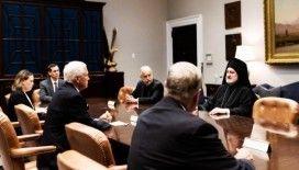Fener Rum Patrikhanesi Amerika Başpiskoposu, Trump ve Pence'le Ayasofya'yı görüştü