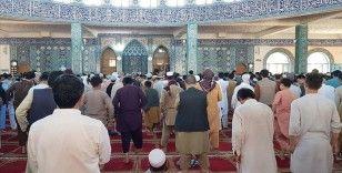 Afganistan'da Ayasofya-i Kebir Cami-i Şerifi için şükür namazı kılındı