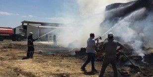 Kütahya'da korkutan saman yangını